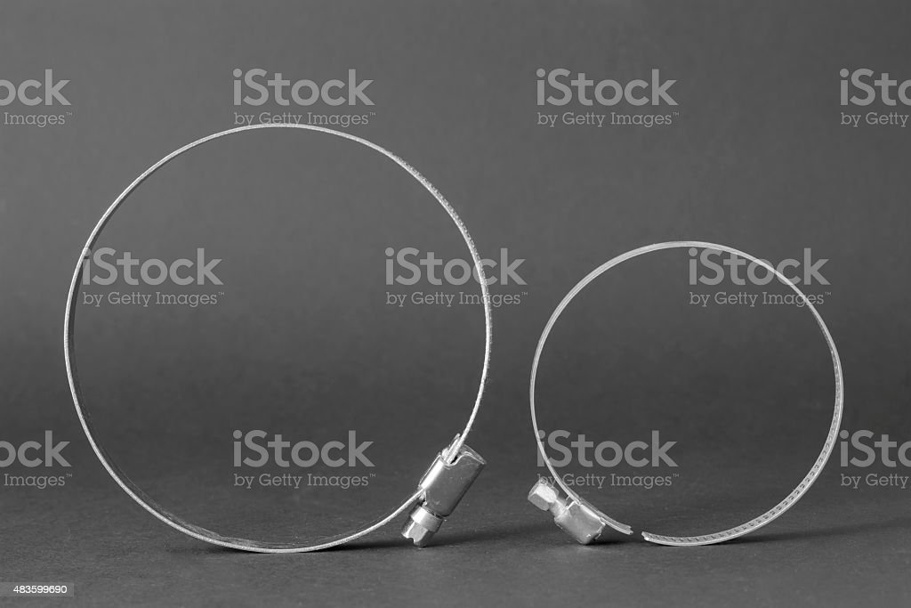 Cable Ties stock photo