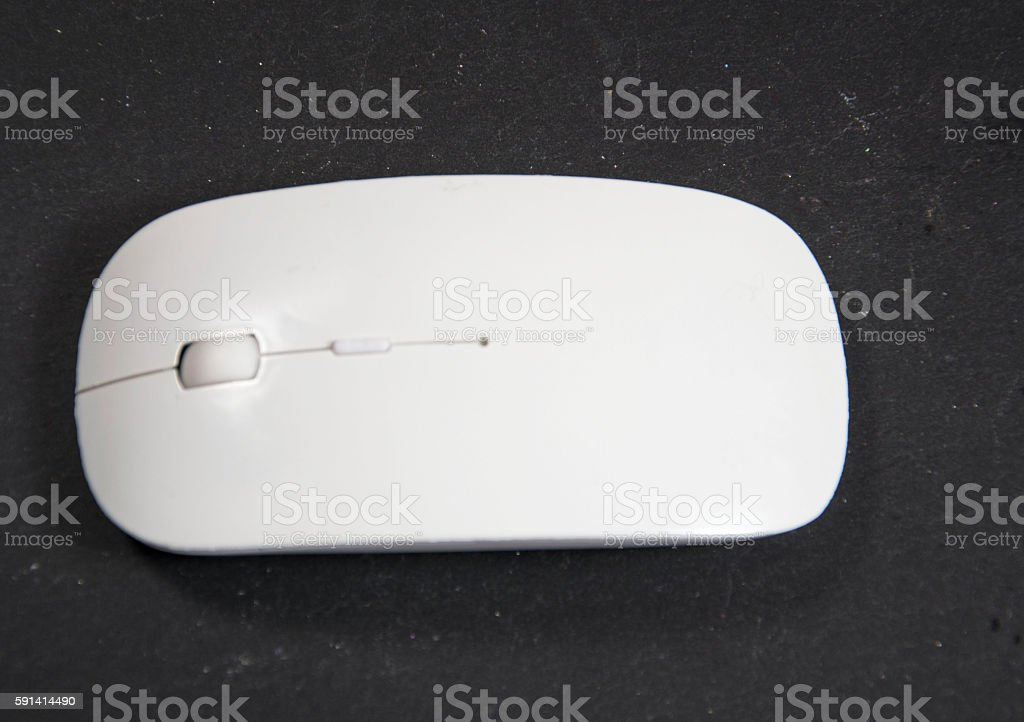 cableless computer mouse stock photo