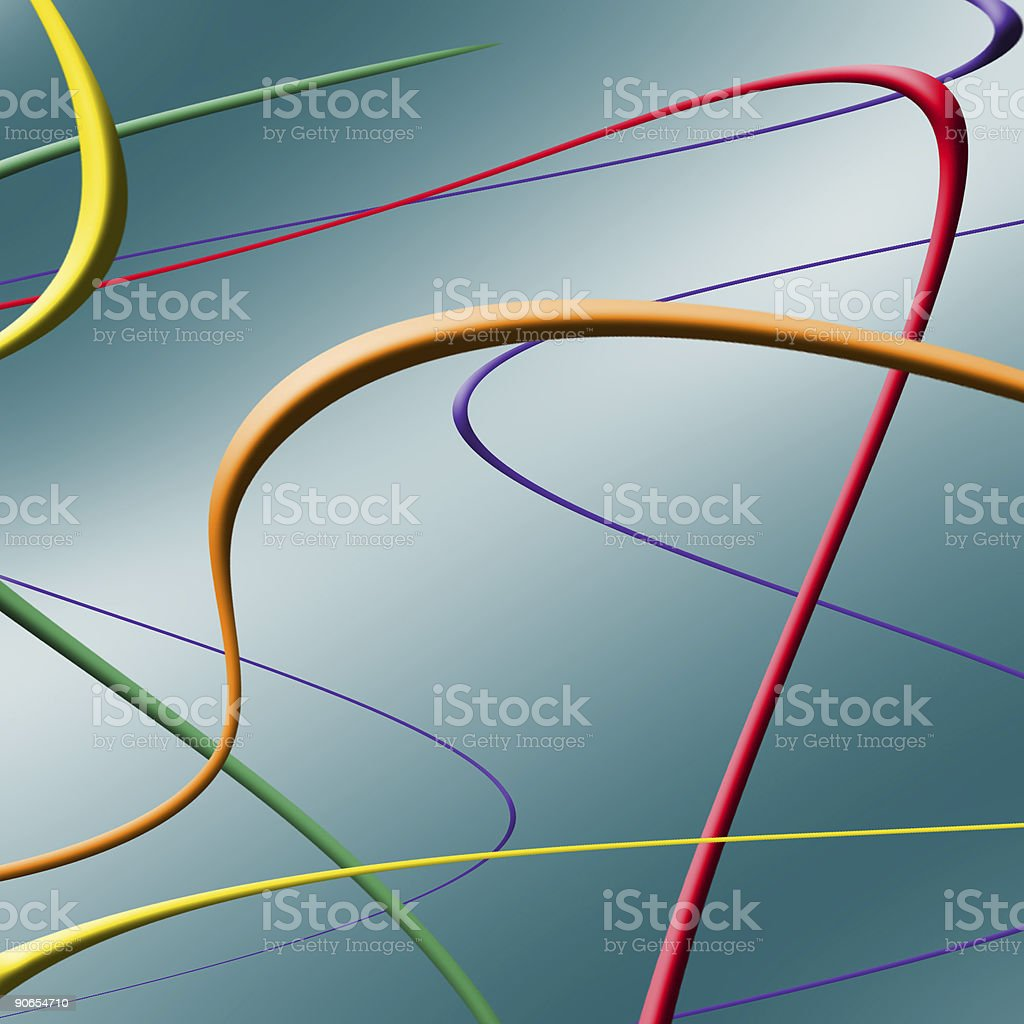 cables 1 royalty-free stock photo