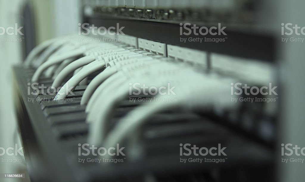 UTP cables stock photo