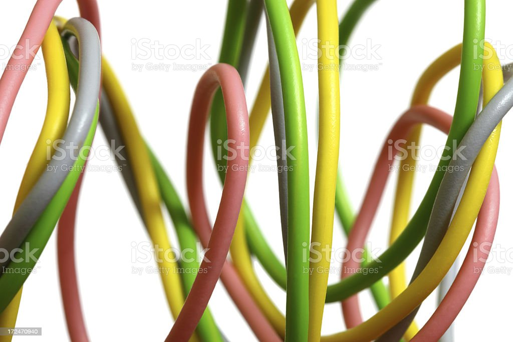 Cables royalty-free stock photo