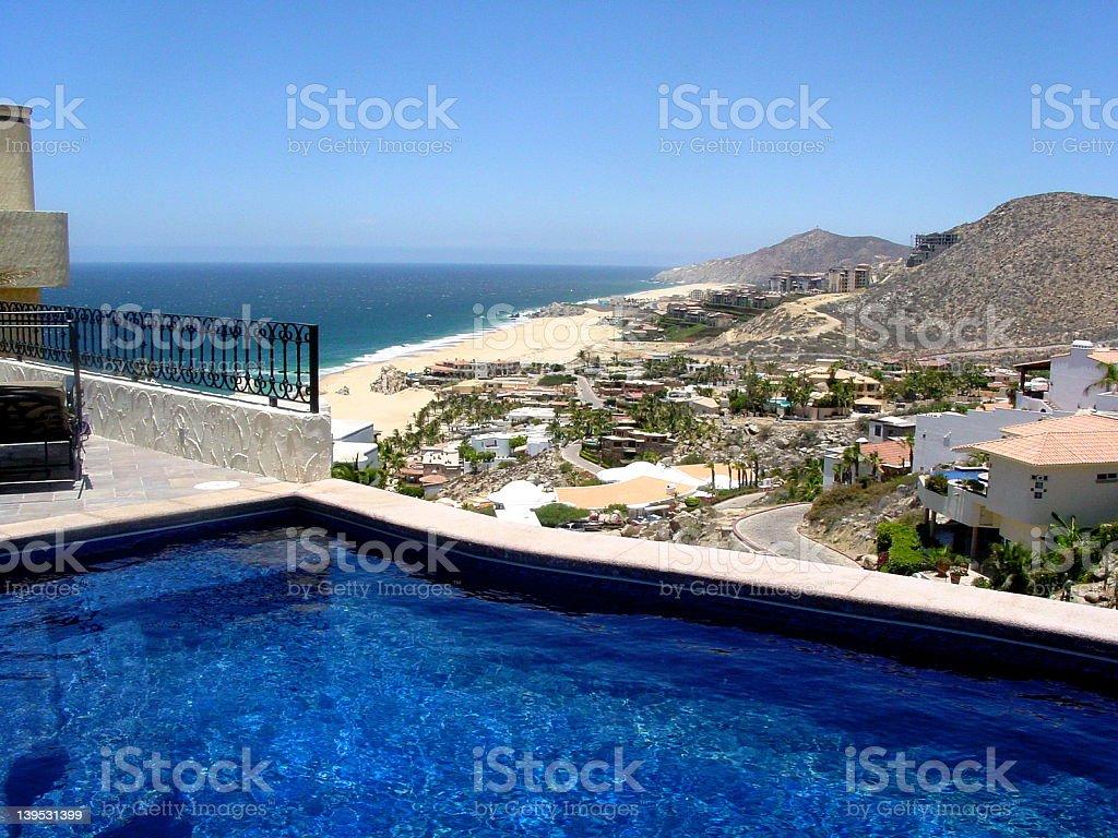 Cabo Coast Line stock photo