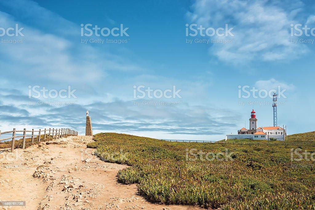 Cabo da Roca stock photo