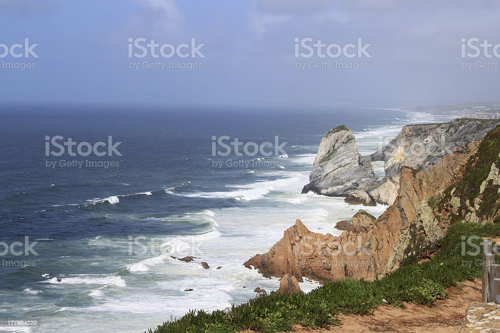 Cabo Da Roca, Portugal royalty-free stock photo