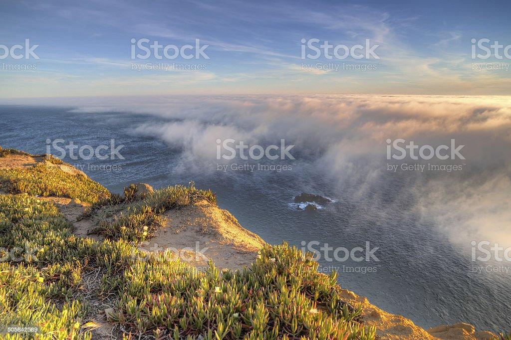 Cabo da Roca - Portugal stock photo