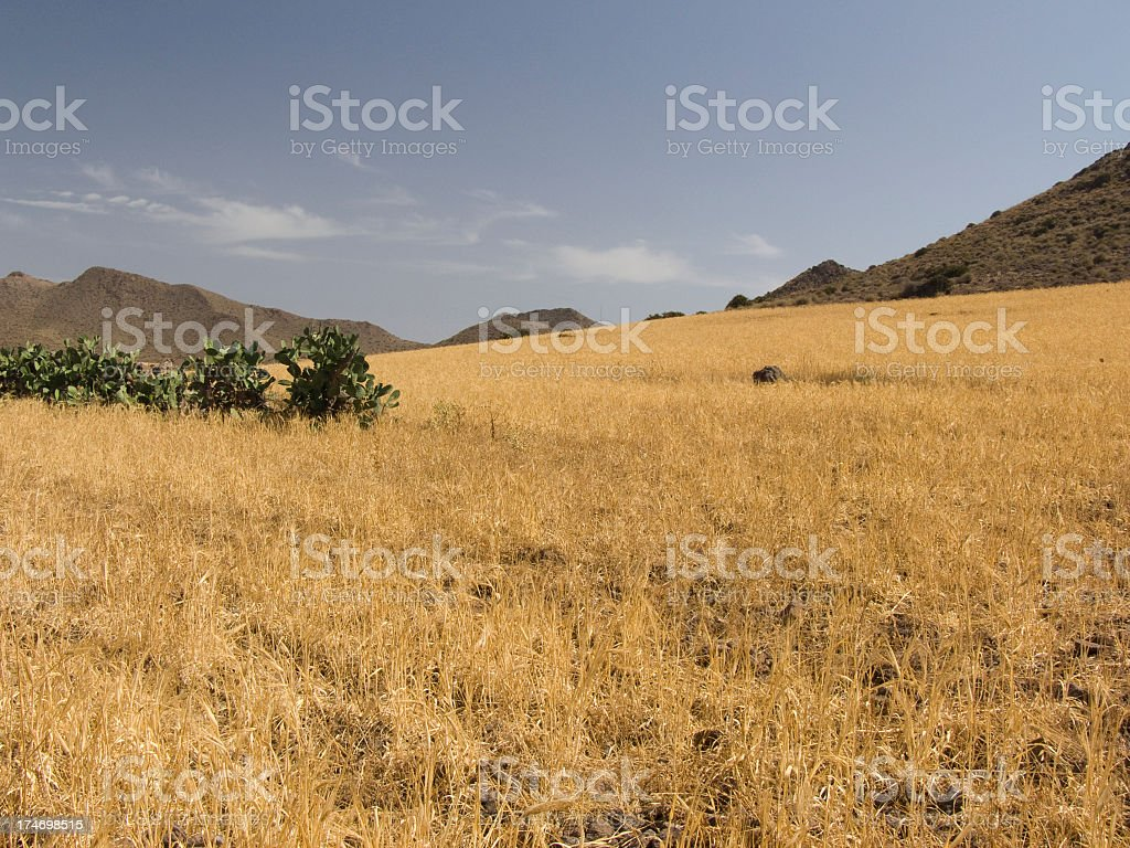 Cabo de Gata, Almeria royalty-free stock photo