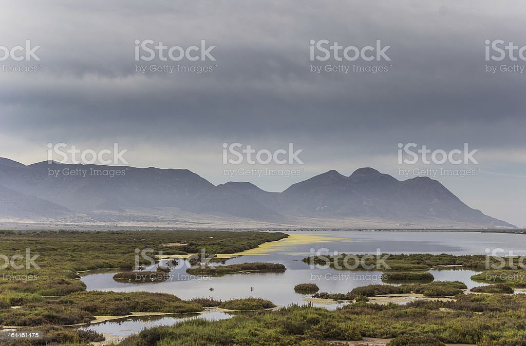 Cabo de Gata National Park royalty-free stock photo