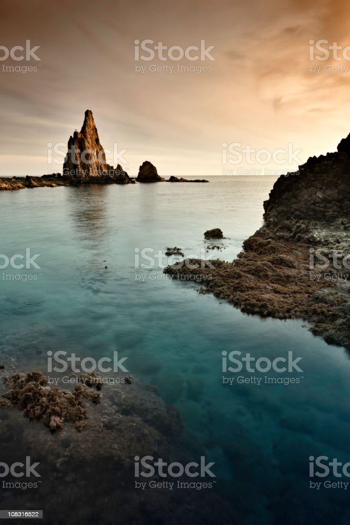 Cabo de Gata royalty-free stock photo