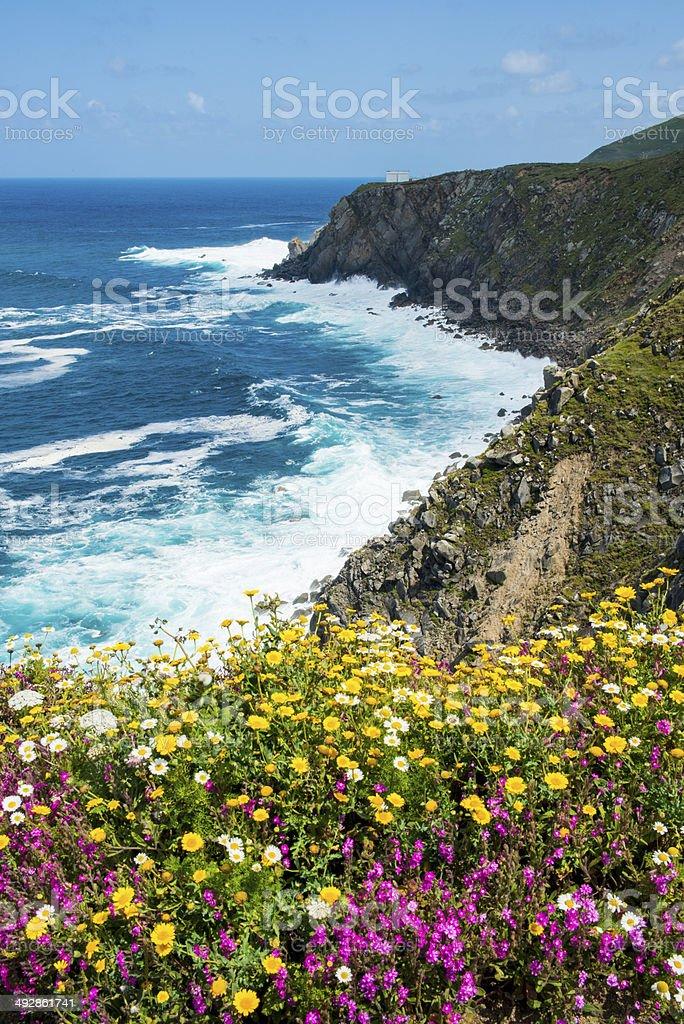 Cabo Estaca de Bares. Ma?on. A Coru?a. Galicia. Espa?a. stock photo