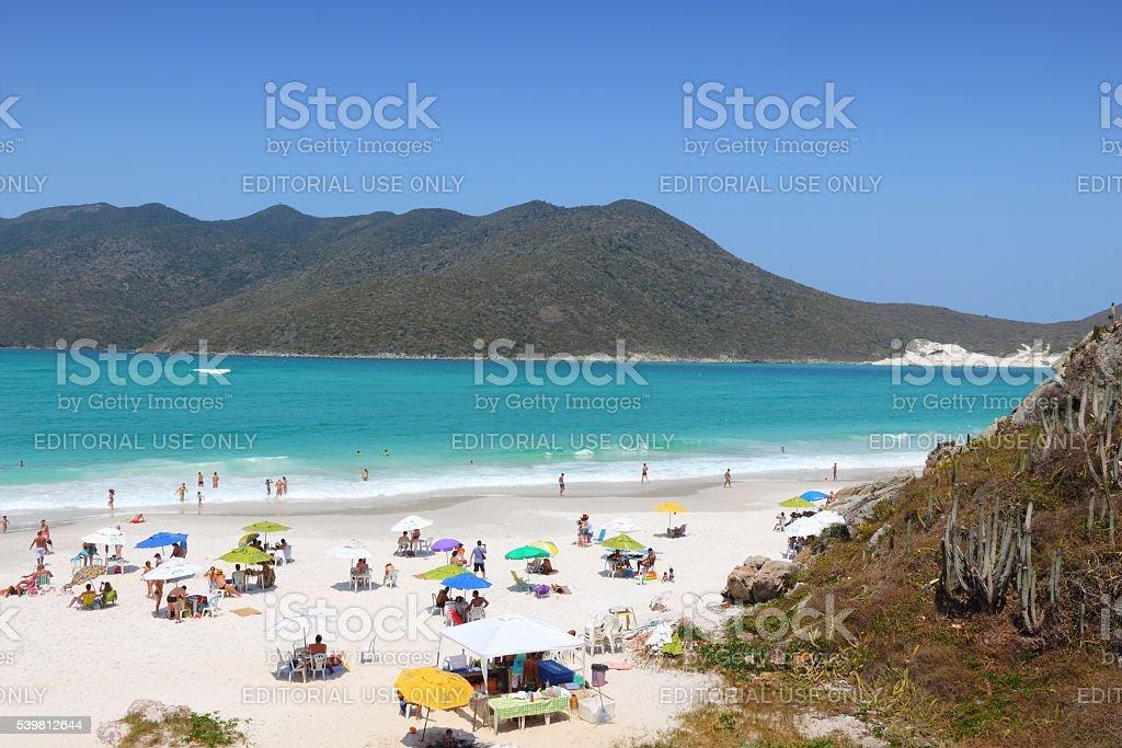 Cabo Frio beach stock photo