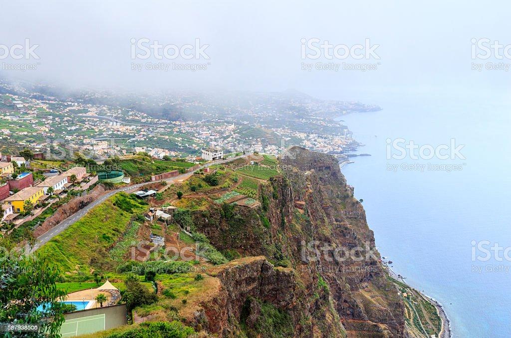 Cabo Girao, Madeira stock photo