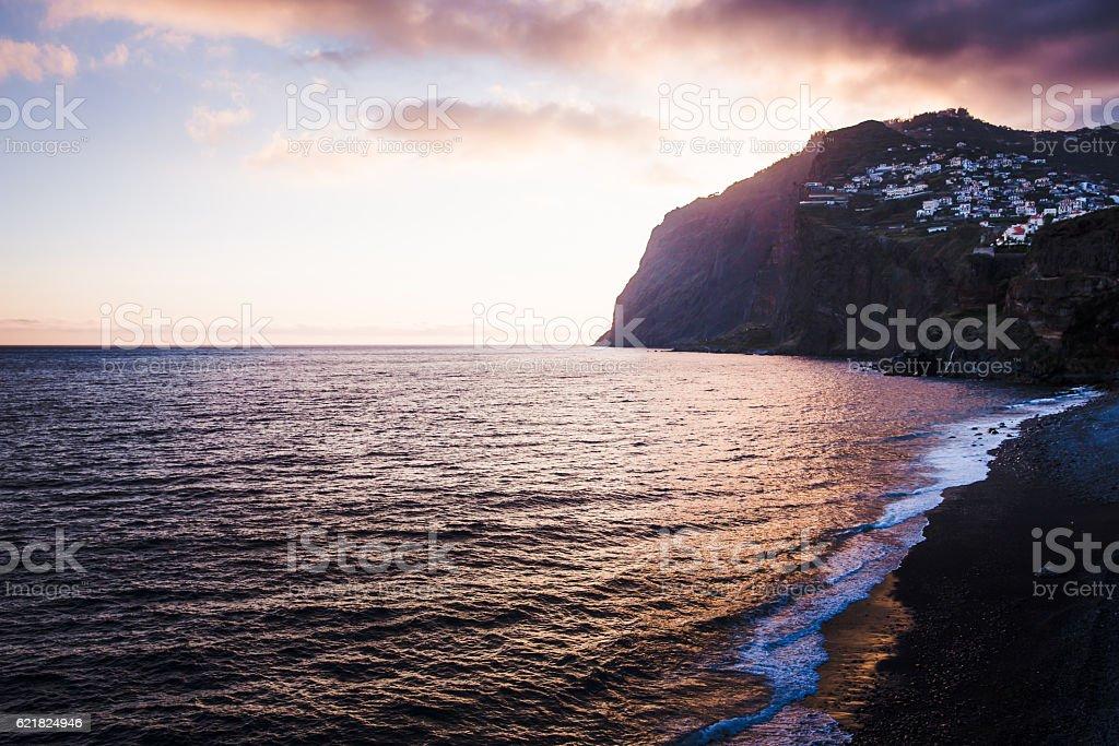 Cabo Girao, Madeira, Portugal stock photo
