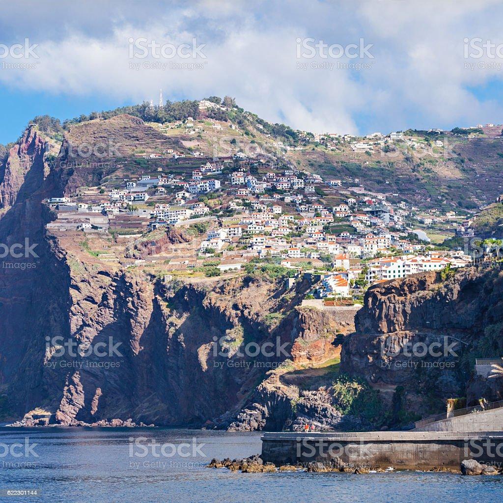 Cabo Girao stock photo