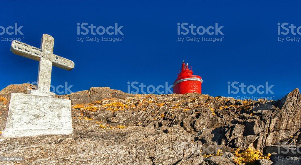 Cabo Home (Galicia, Spain) stock photo