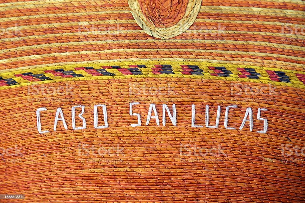 Cabo San Lucas Basket, Close-up, Background royalty-free stock photo