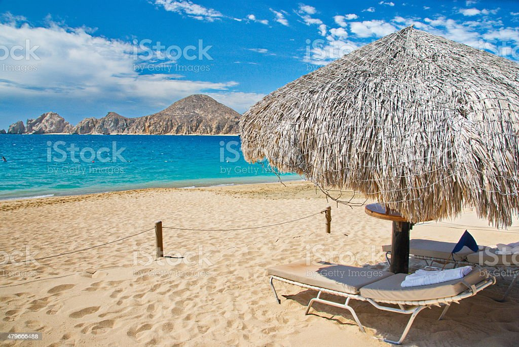 Cabo San Lucas beach stock photo