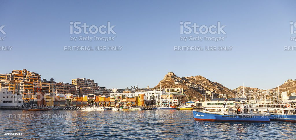 Caba San Lucas Harbour, Baja California Sur, Mexico stock photo