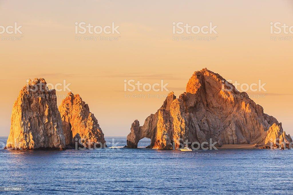 Cabo San Lucas. Mexico stock photo