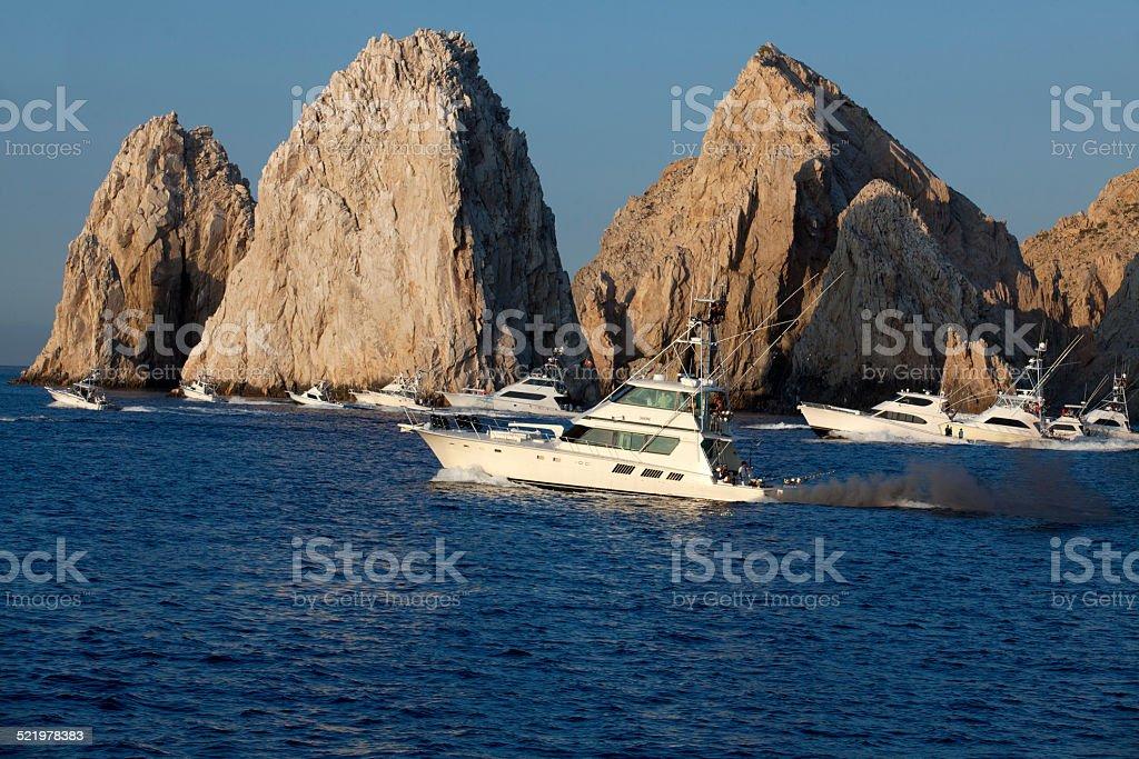 Cabo San Lucas - Sport Fishing Tournament stock photo
