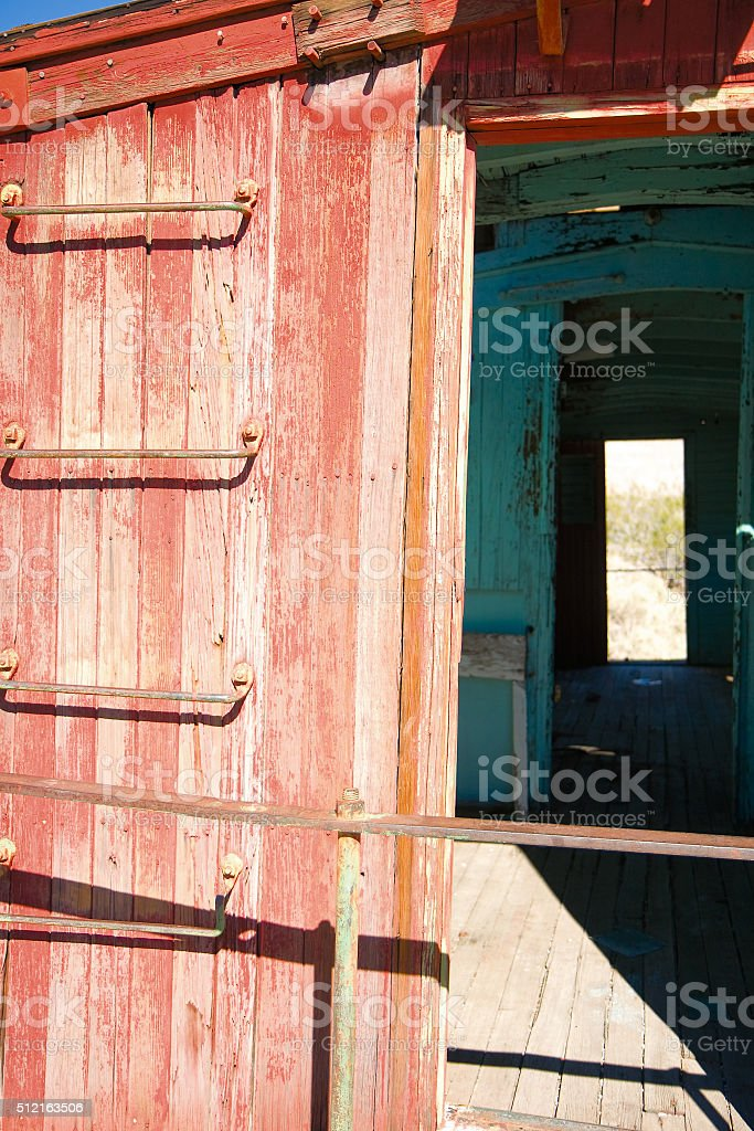 Caboose royalty-free stock photo