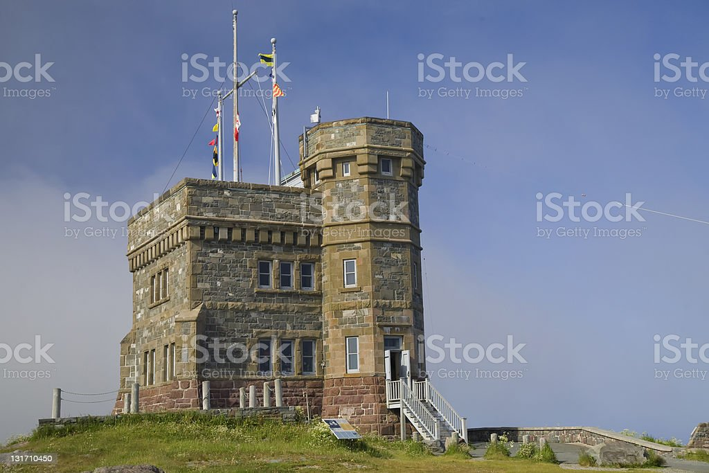 Cabot Tower stock photo