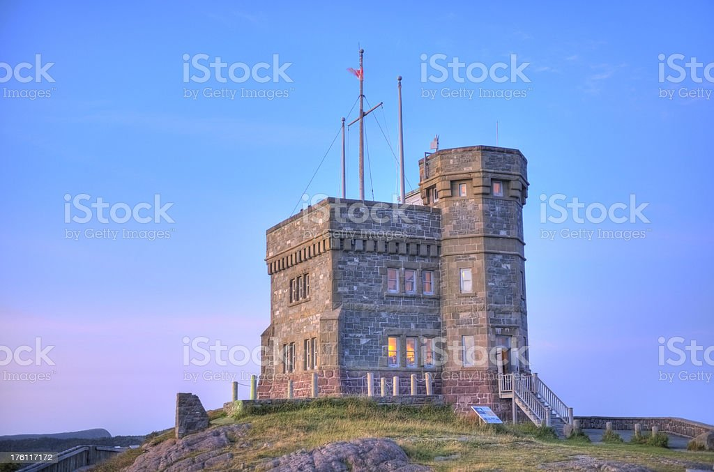 Cabot Tower royalty-free stock photo