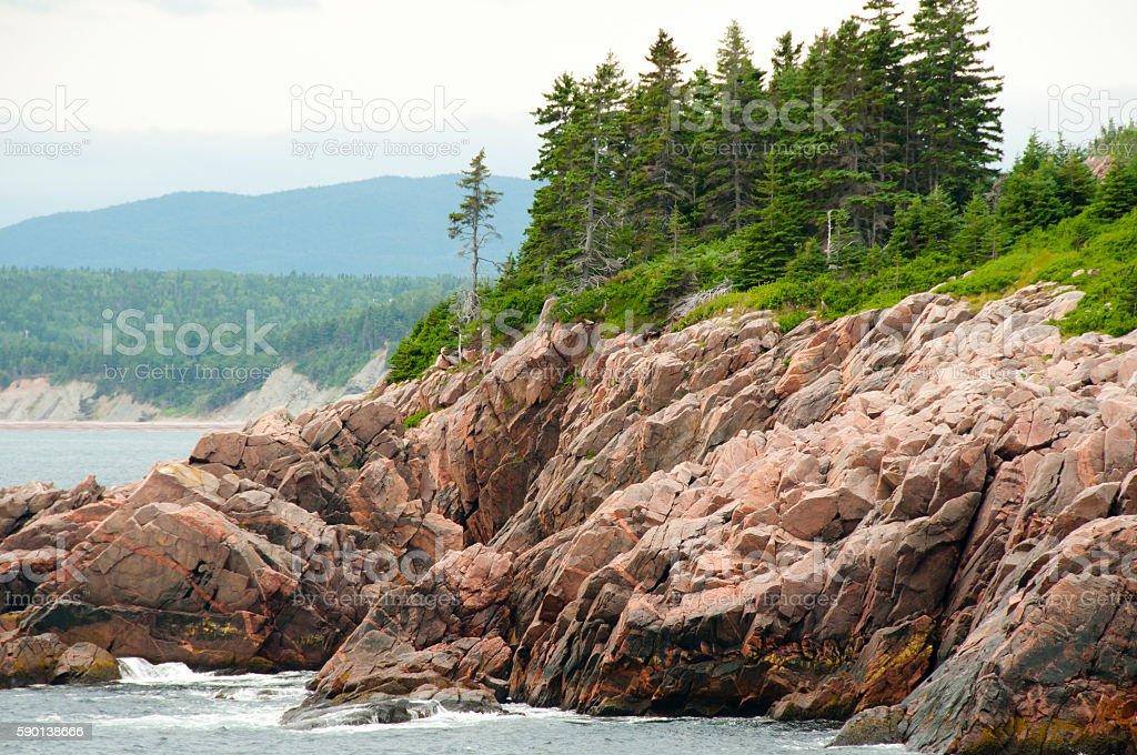 Cabot Trail - Nova Scotia - Canada stock photo