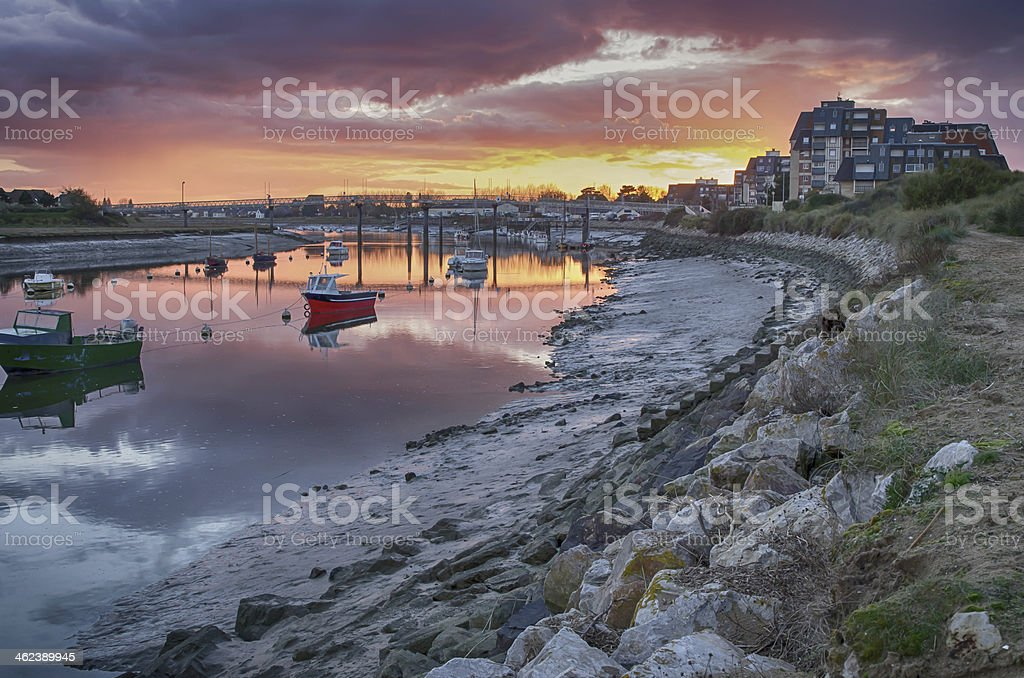 Cabourg stock photo