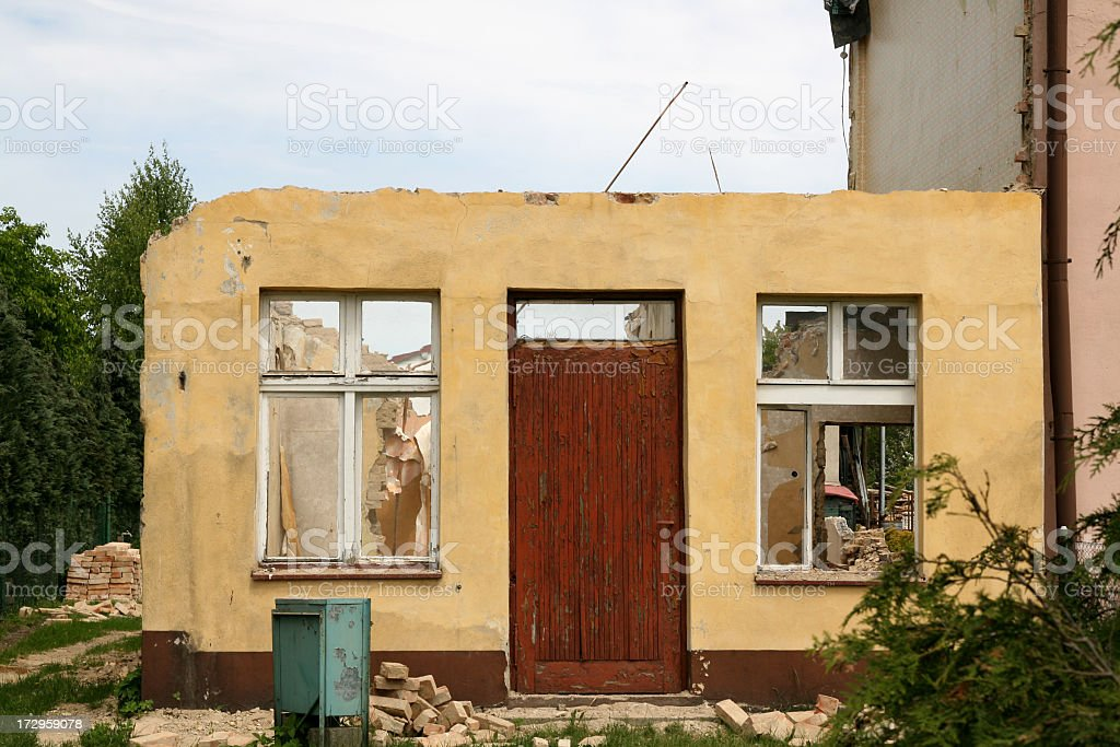 Cabrio House stock photo