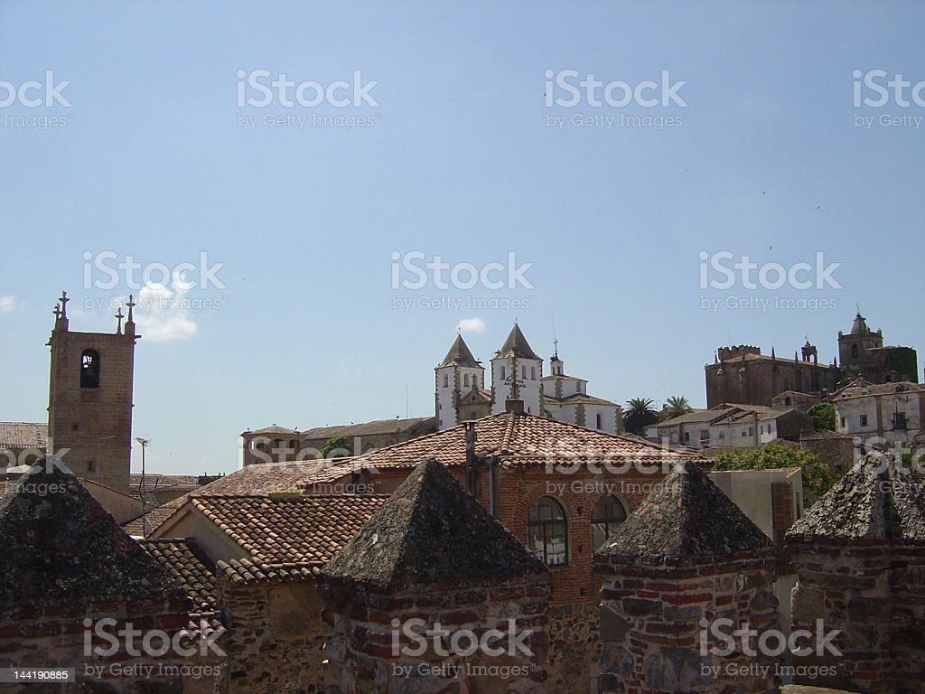 caceres8 royalty-free stock photo