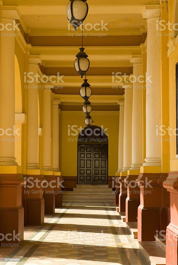 Cacso Viejo, Panama royalty-free stock photo
