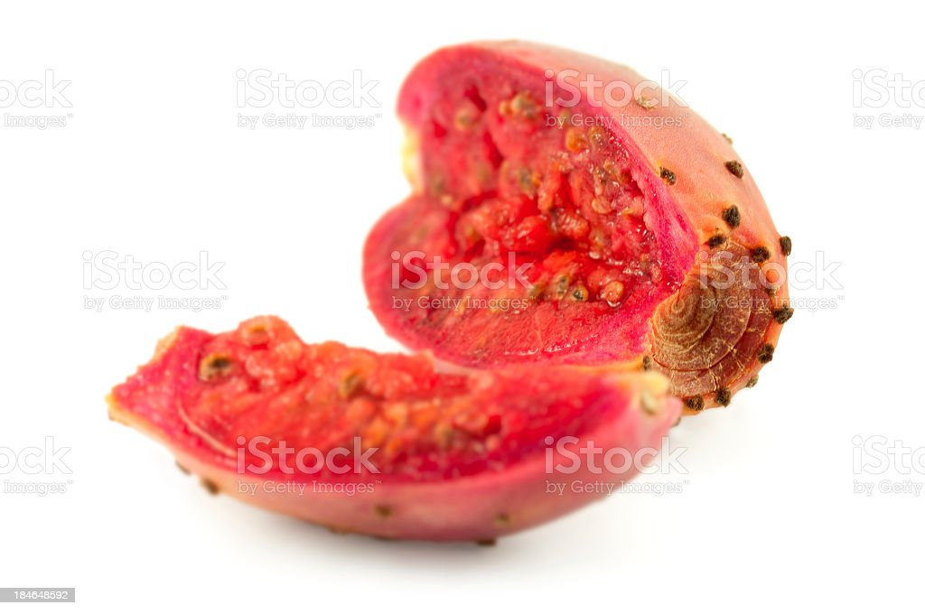 cactus pear stock photo