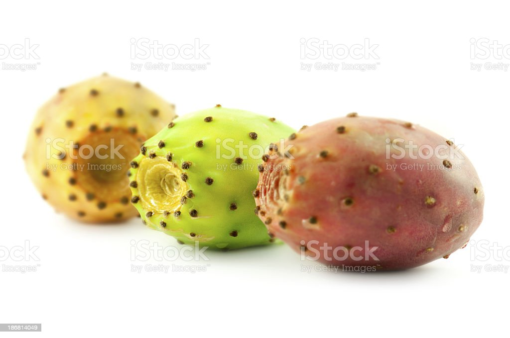 cactus pears stock photo