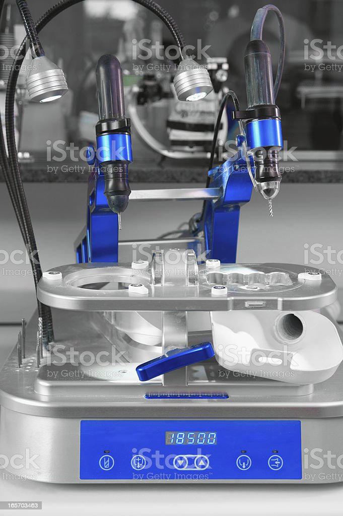 Cad Cam technology stock photo