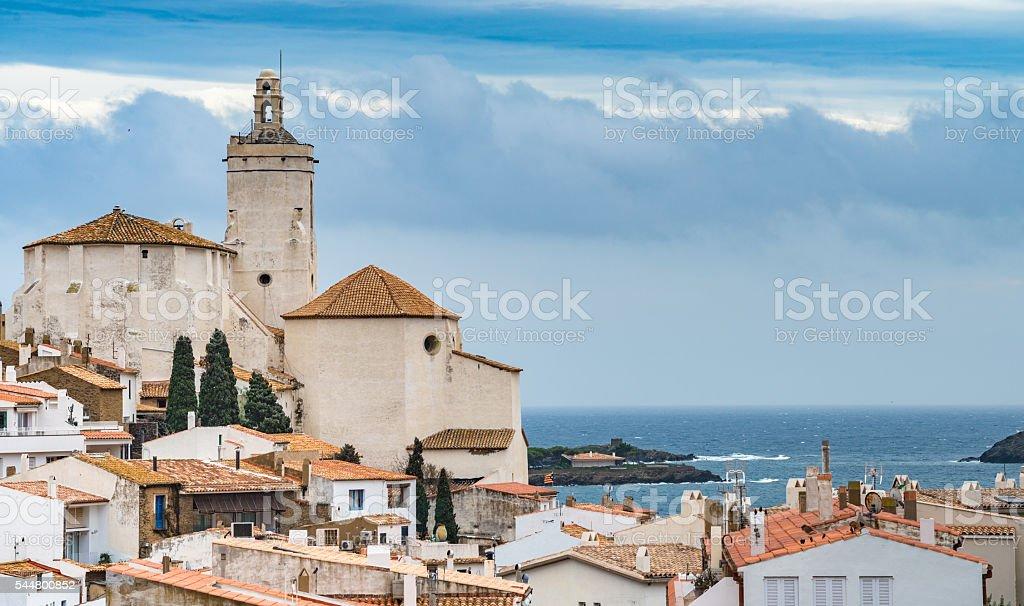 Cadaques, Costa Brava, Catalonia, Spain stock photo
