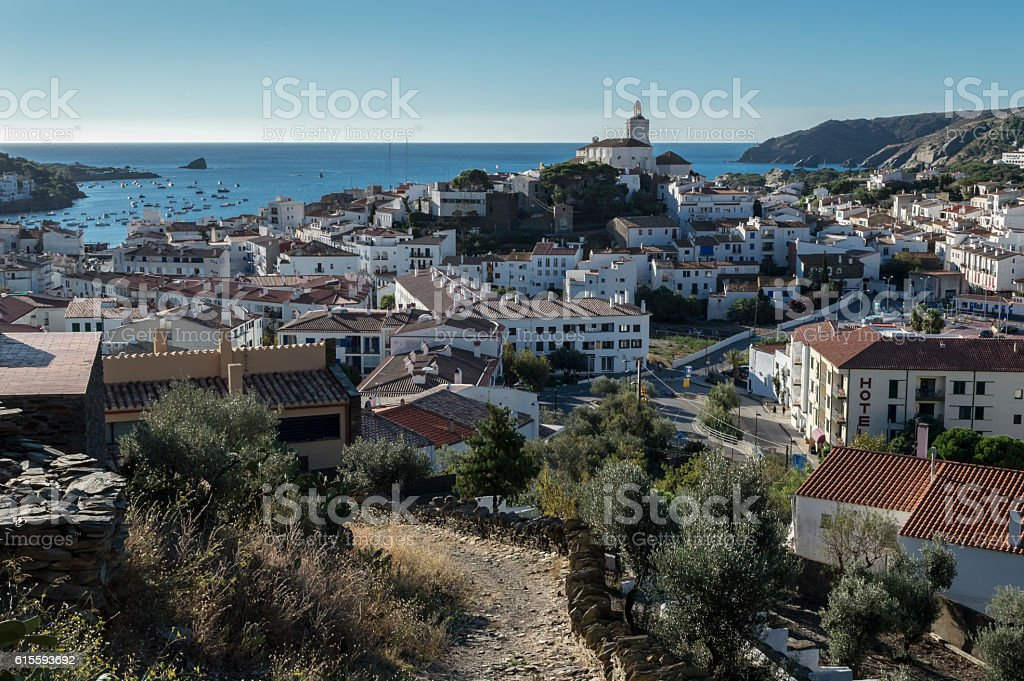 Cadaques, Costa Brava, Spain stock photo