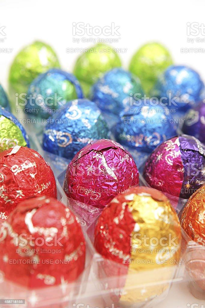 Cadbury Easter Eggs stock photo
