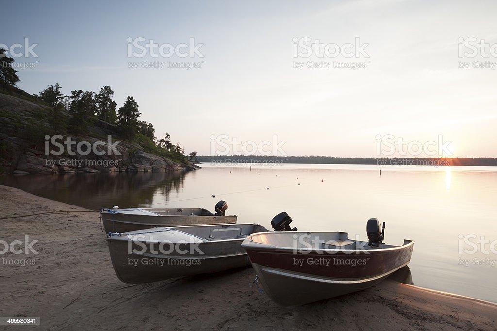 Caddy Lake Manitoba royalty-free stock photo