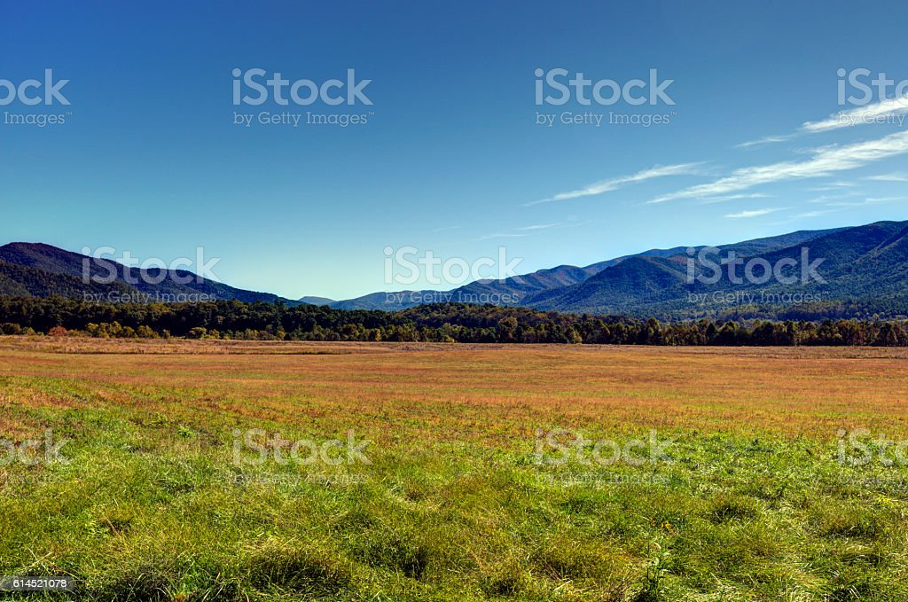 Cades Cove 101602 stock photo