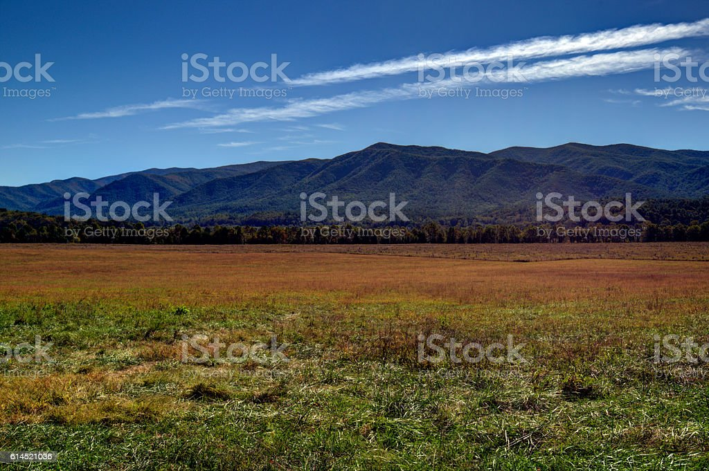 Cades Cove 101603 stock photo