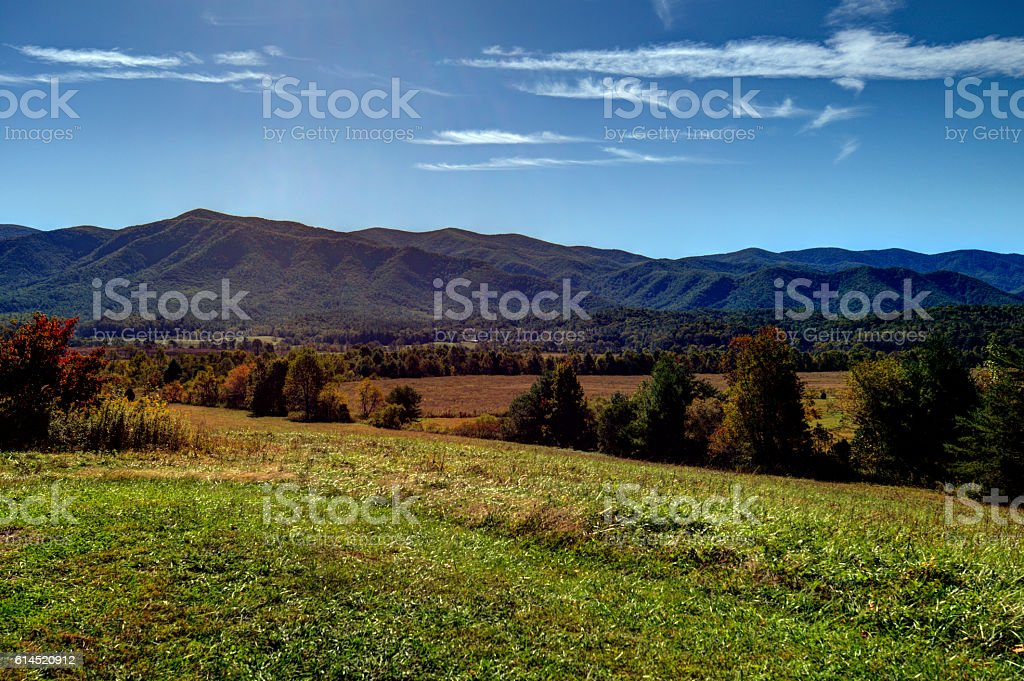 Cades Cove 101606 stock photo