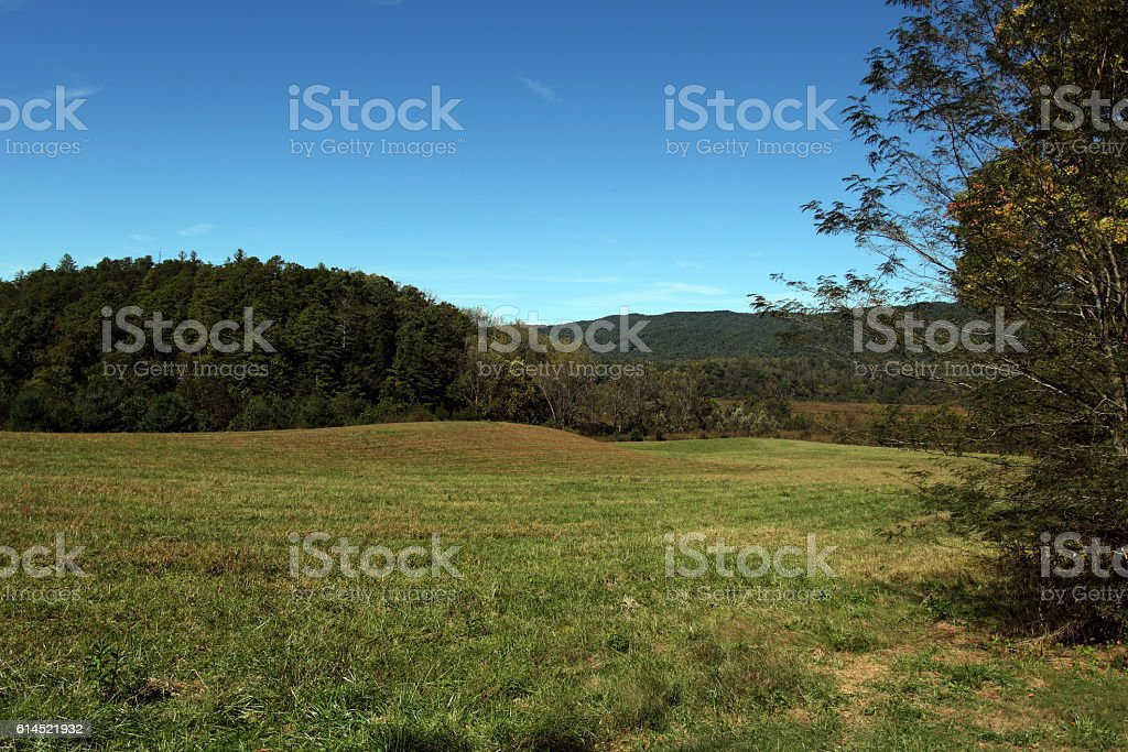 Cades Cove 101607 stock photo