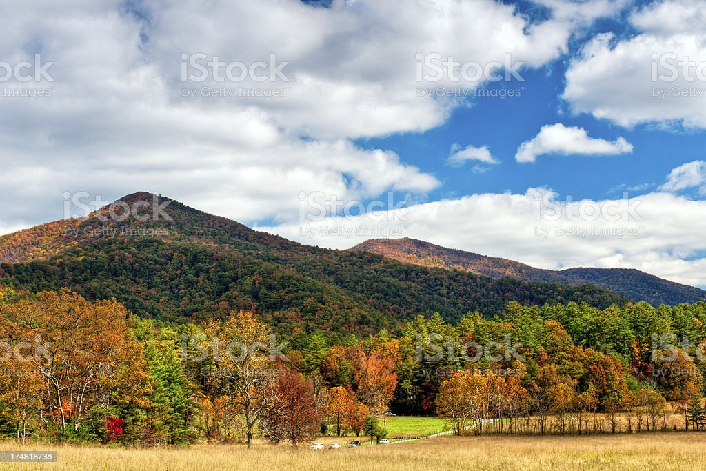 Cades Cove, Great Smoky Mountains, Gatlinburg, Tennessee, USA stock photo