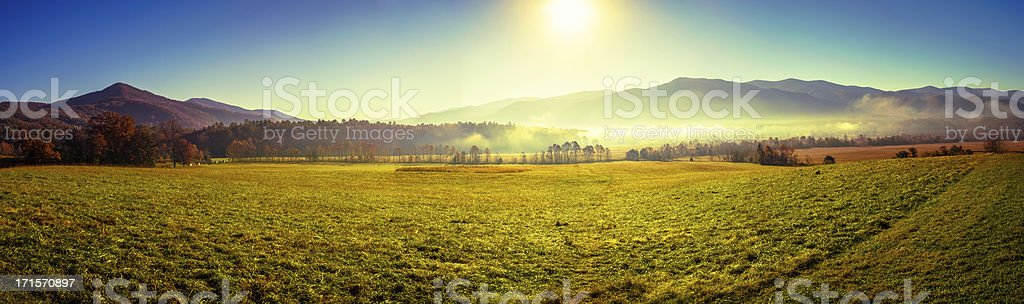 Cades Cove, Great Smoky Mountains National Park stock photo
