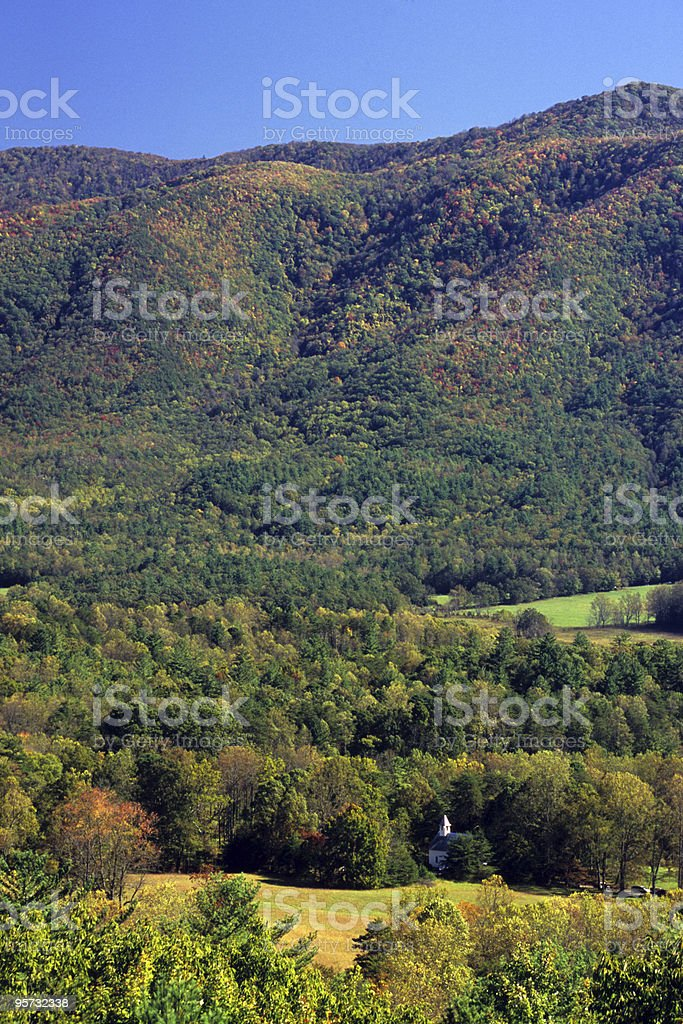 Cades Cove, Great Smoky Mountains National Park, Tennessee, USA royalty-free stock photo