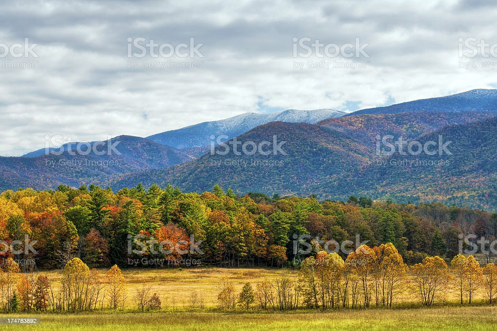 Cades Cove, Great Smoky Mountains, Tennessee, USA royalty-free stock photo