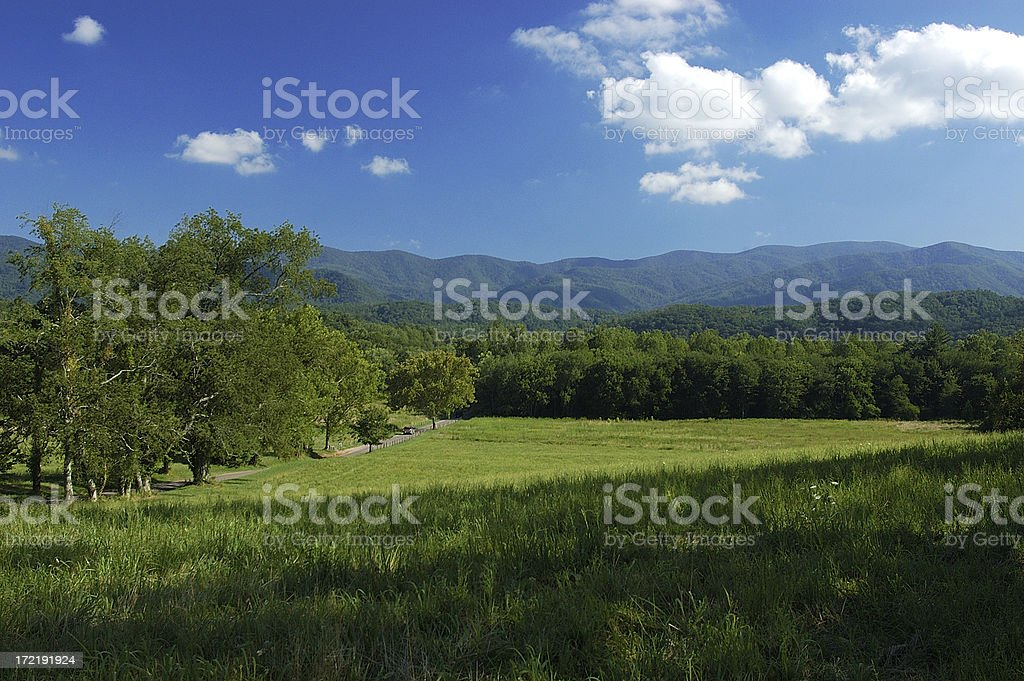 Cades Cove royalty-free stock photo