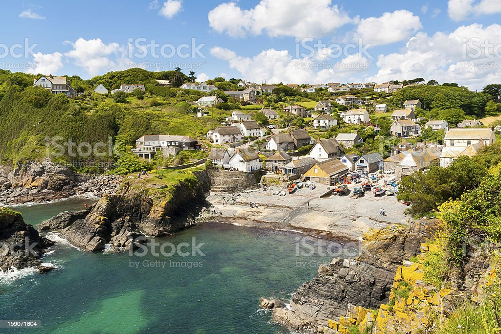Cadgwith Cove stock photo