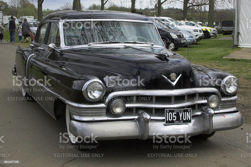 Cadilac Coupe DeVille from 1950 stock photo