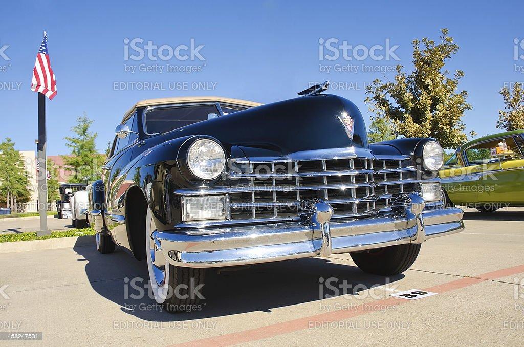 Cadillac 1947 Series 62 Convertible royalty-free stock photo